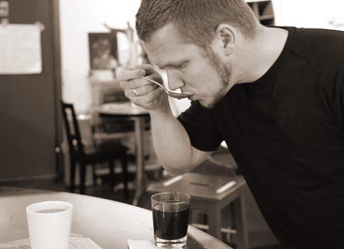 Steffen tester nye kaffetyper