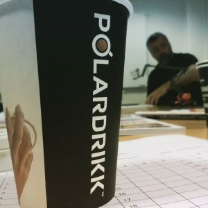 Polar Kaffe beger iphone