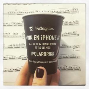 noter kaffe beger polardrikk