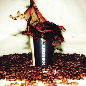 Polardrikk kaffe kopp bønner
