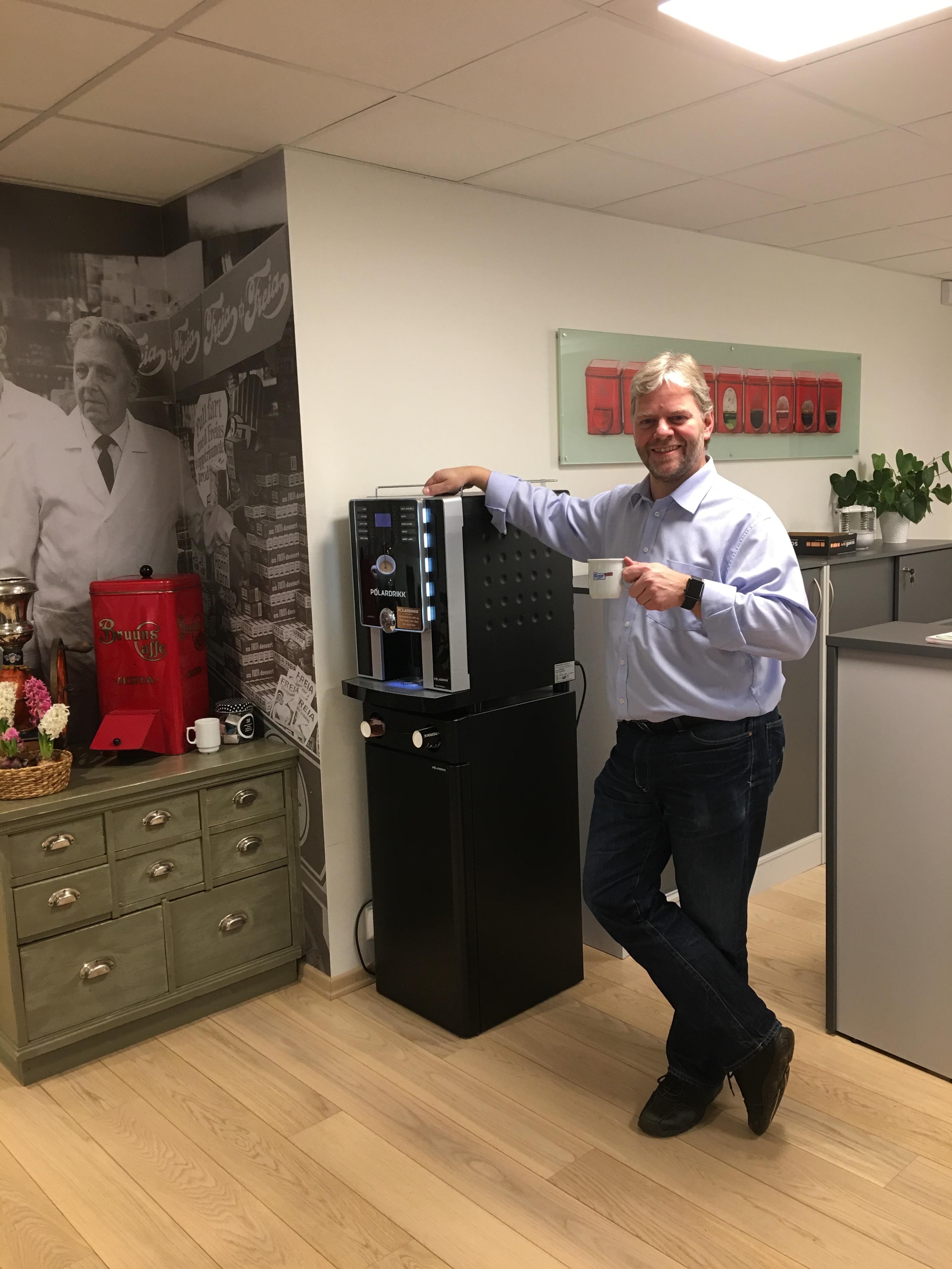 kaffemaskin kontor