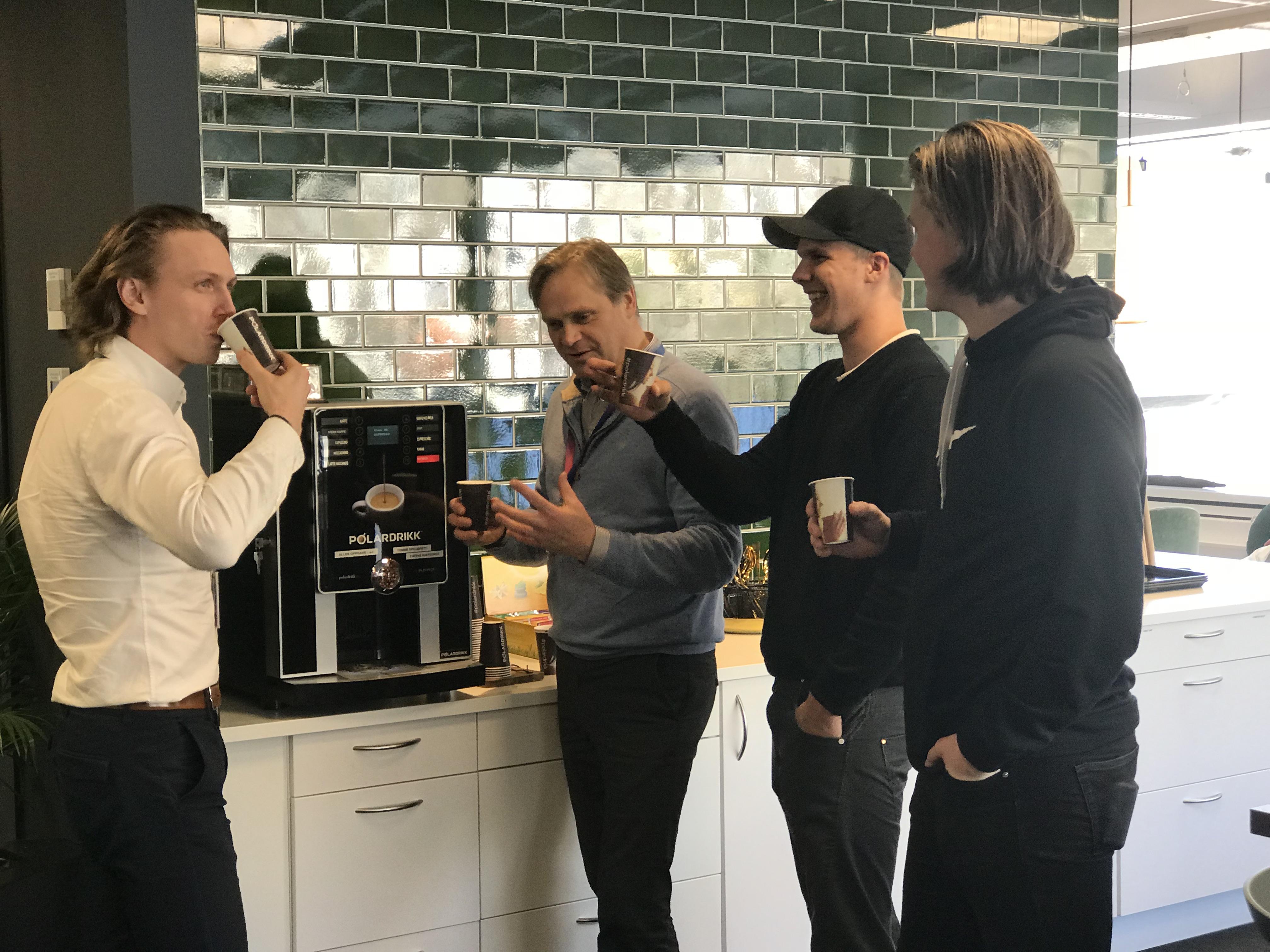 kaffemaskin til bedrift