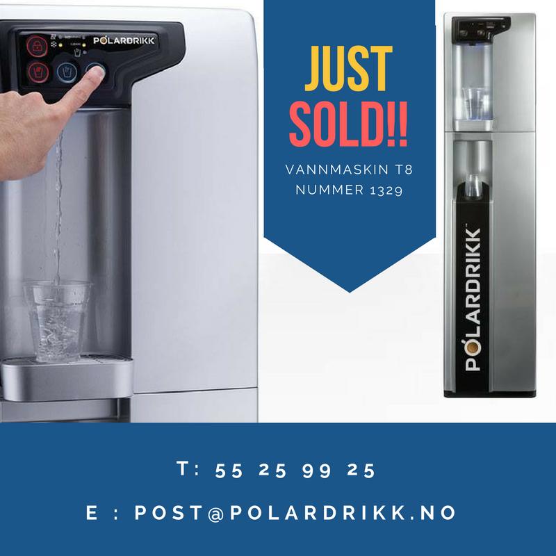 vanndispenser modell: Polar T8 HCH