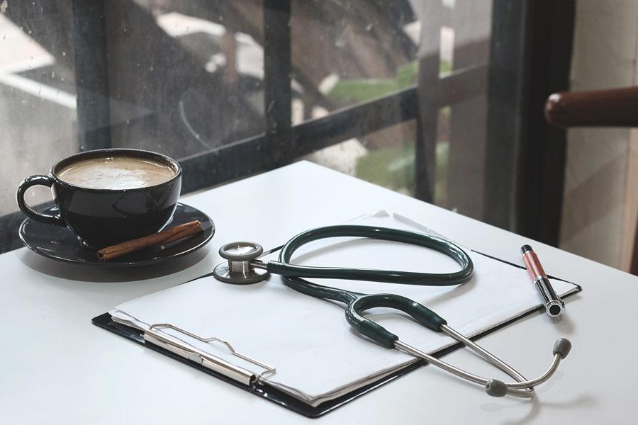 Kaffe på sykehus