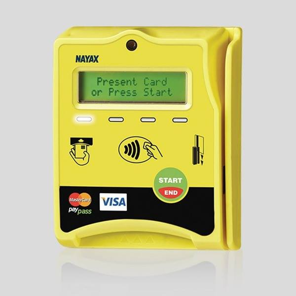 Nayax betalingssystem visa
