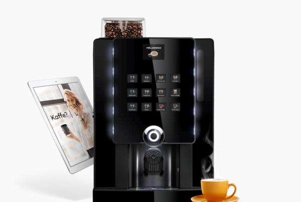 Kaffemaskin og Ipad