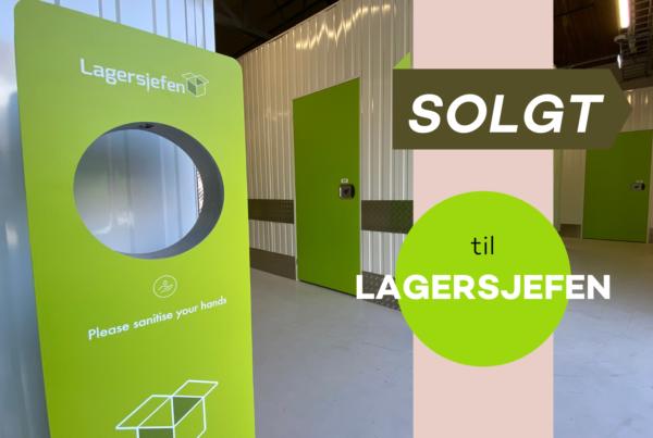 Viser design spritdispenser hos Lagersjefen As