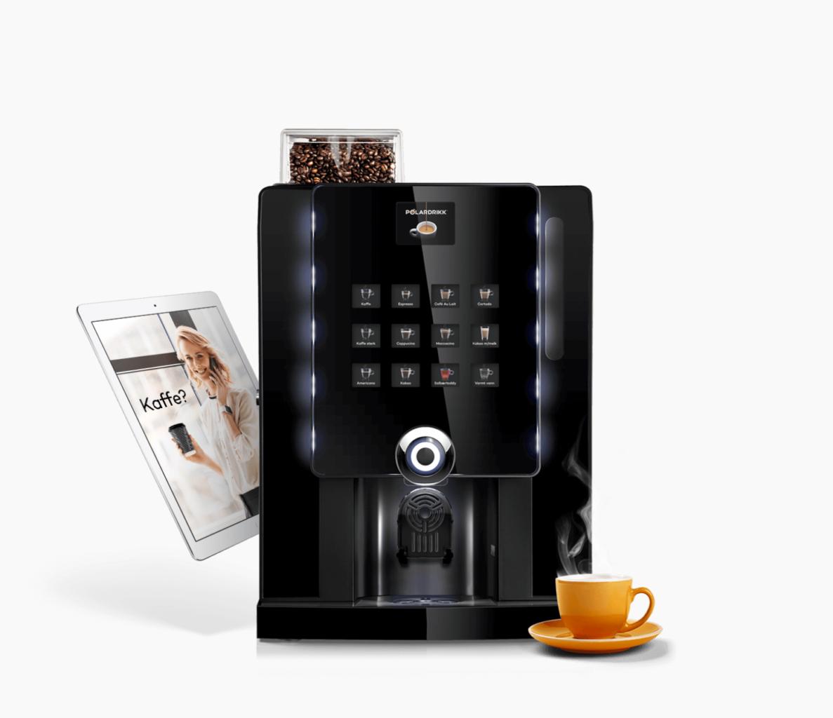 Kaffemaskin Ipad